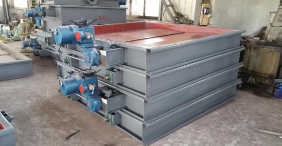 烟气脱硫挡板门主要用于火电厂的烟气脱硫系统中